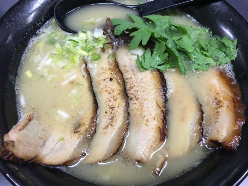 チャーシュー麺(塩)
