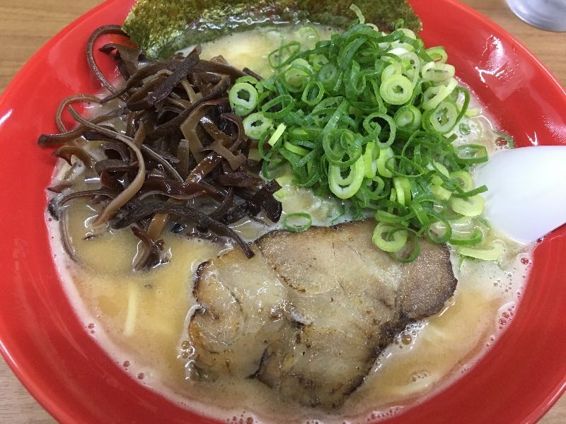 海老味噌鶏白湯