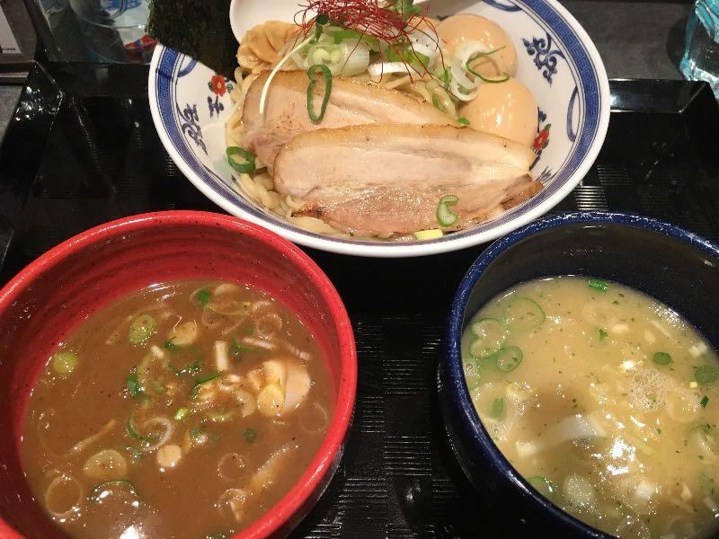 二種つけ麺+味玉
