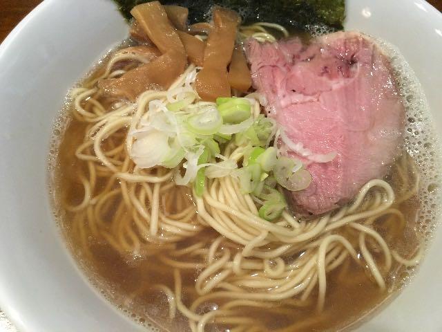 煮干そば(醤油)