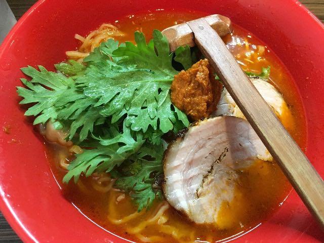 赤丸塩らー麺