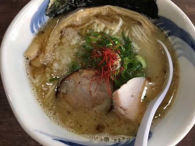 魚介鶏塩白湯