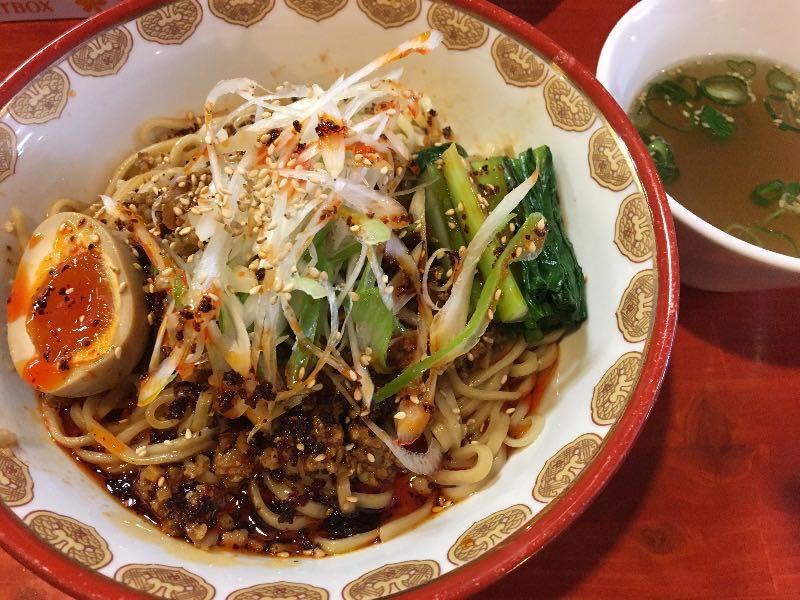 汁なし担々麺(スープ付)