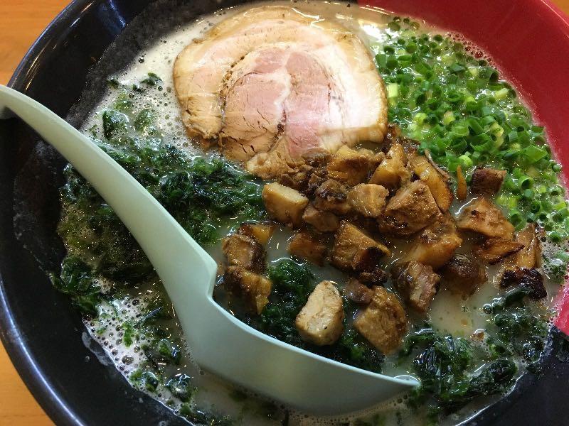 鶏白湯 塩+コロコロチャーシュー+あおさ海苔