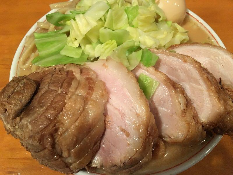 ミニラーメン+肉