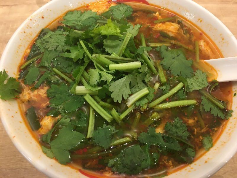 パクチー辛麺