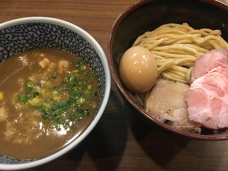 極濃煮干しつけ麺