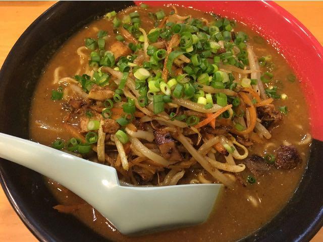 鶏白湯 スパイシーカレー麺とろみ