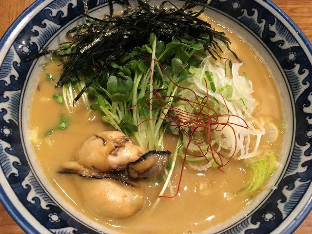 牡蠣・拉麺