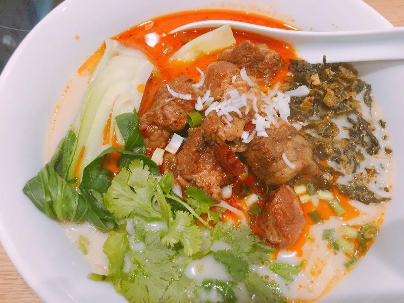 富寅馬的私房牛肉麺
