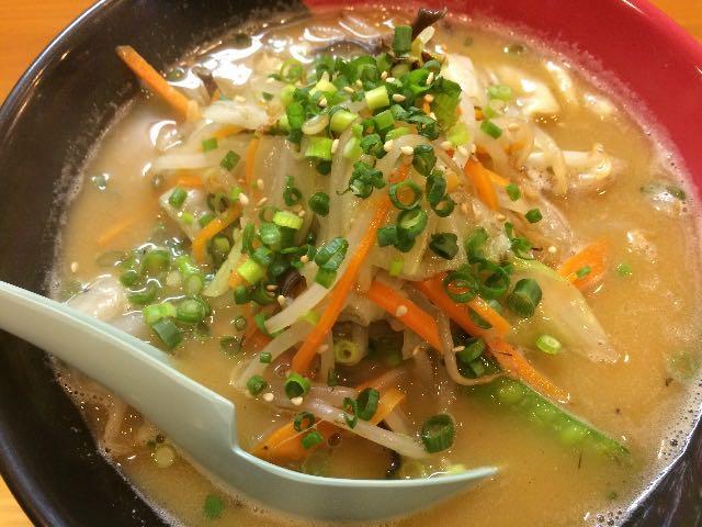 鶏白湯 辛タンメン