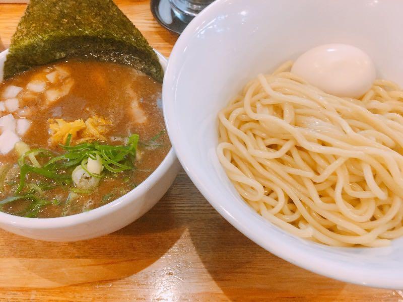 つけ麺+煮玉子