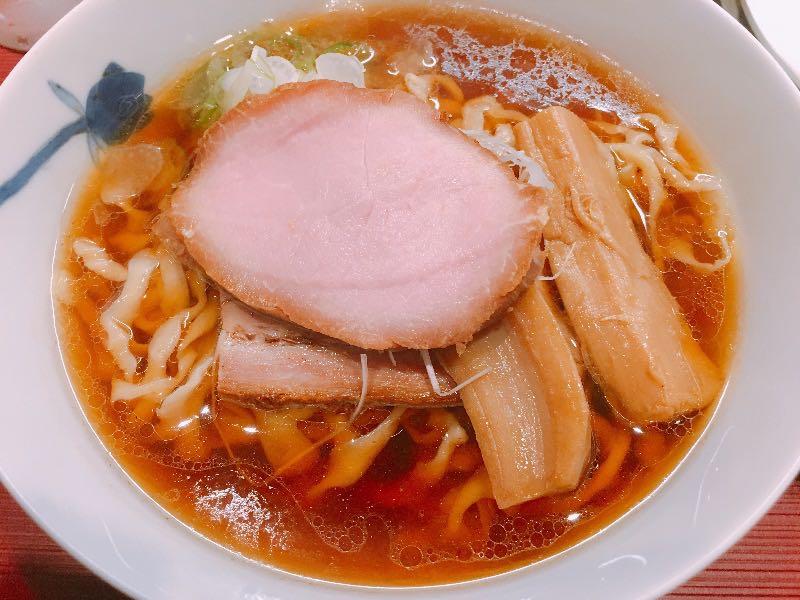 醤油(中太手もみ麺)