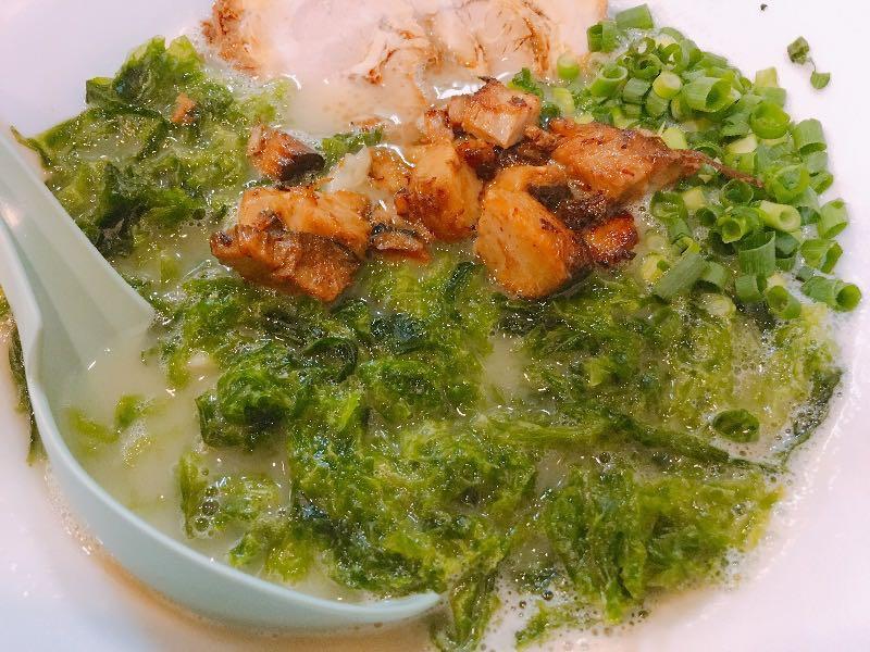 鶏白湯 塩+あおさ海苔+コロコロチャーシュー