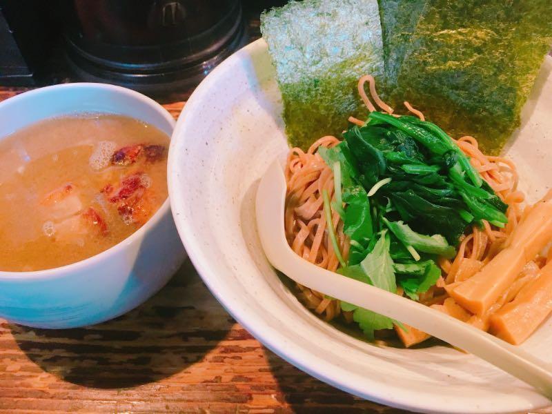 ザ・しおつけ麺+海苔