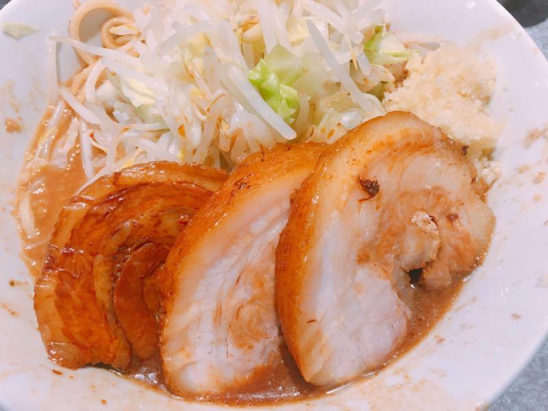 ラーメン ミニ(ニンニク)+豚増し
