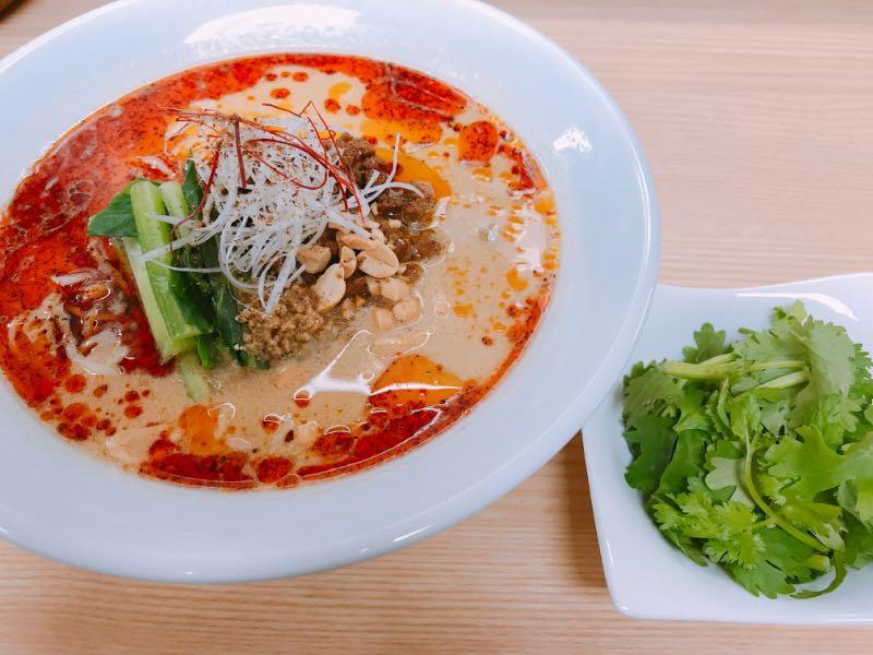 清星特製担々麺+パクチー