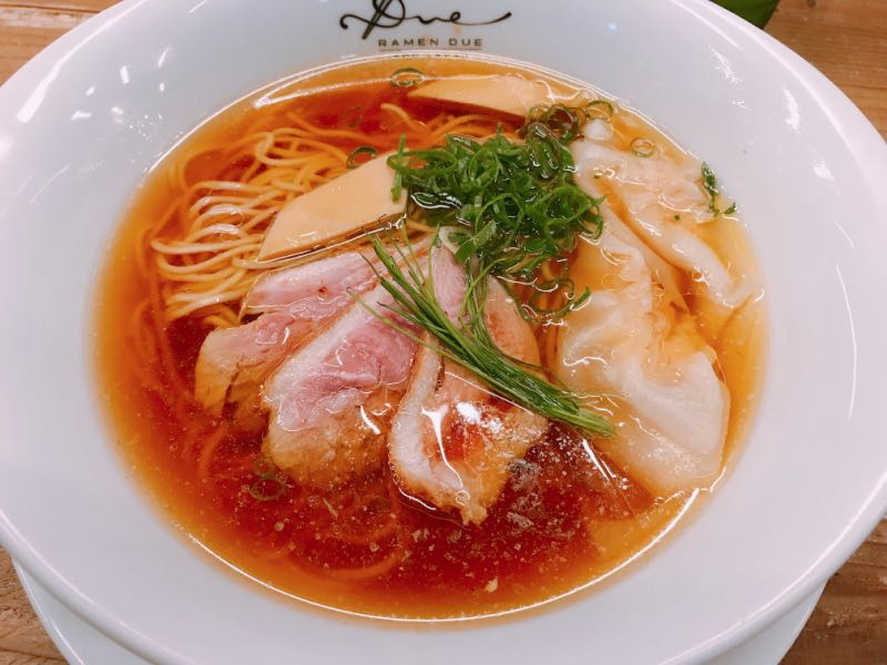醤油らぁ麺~小豆島のオリーブの香り~