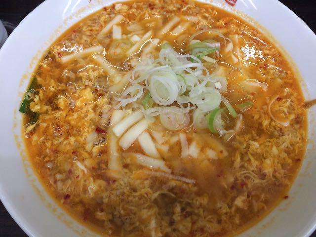 カレータンタン麺+チーズ
