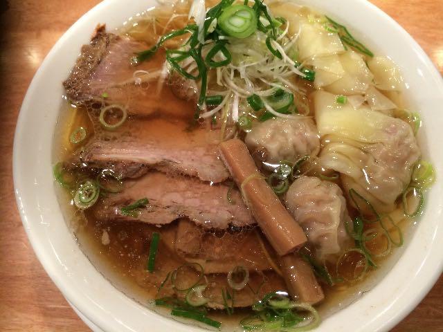 叉焼雲呑麺