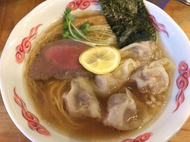 牛骨ワンタン麺