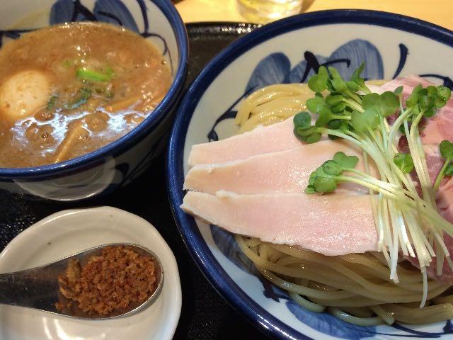 鶏と魚介の特製つけ麺