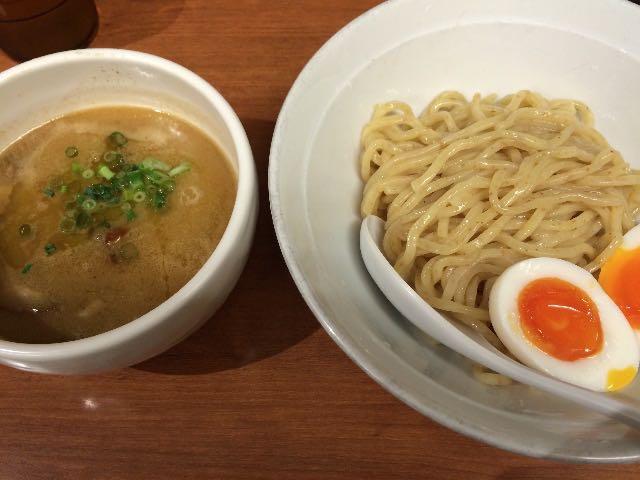 つけ麺+味玉子