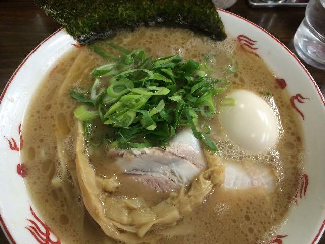 らぁ麺+煮玉子