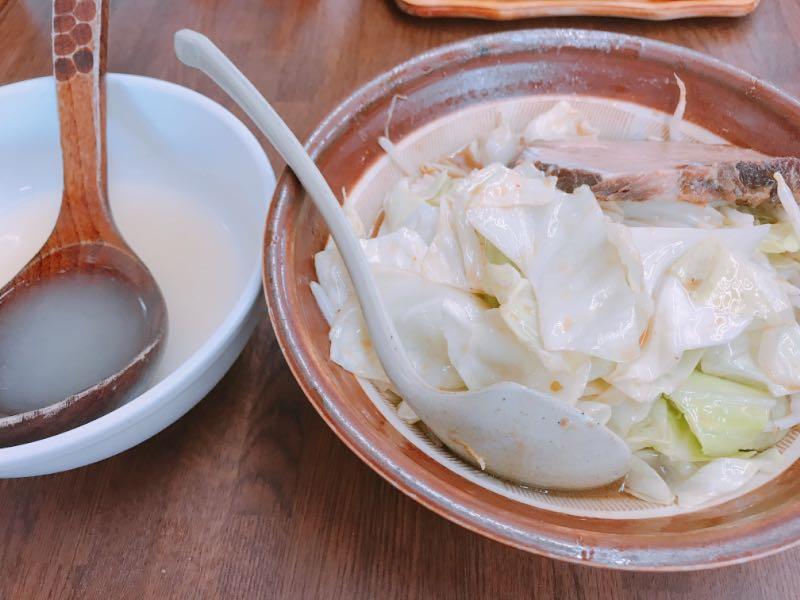特製野菜みそラーメン+割スープ