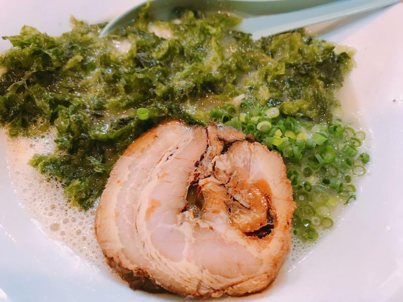鶏白湯 塩+あおさ海苔