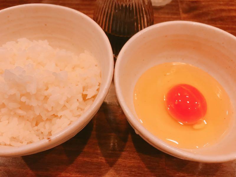 寿雀卵の玉子かけご飯