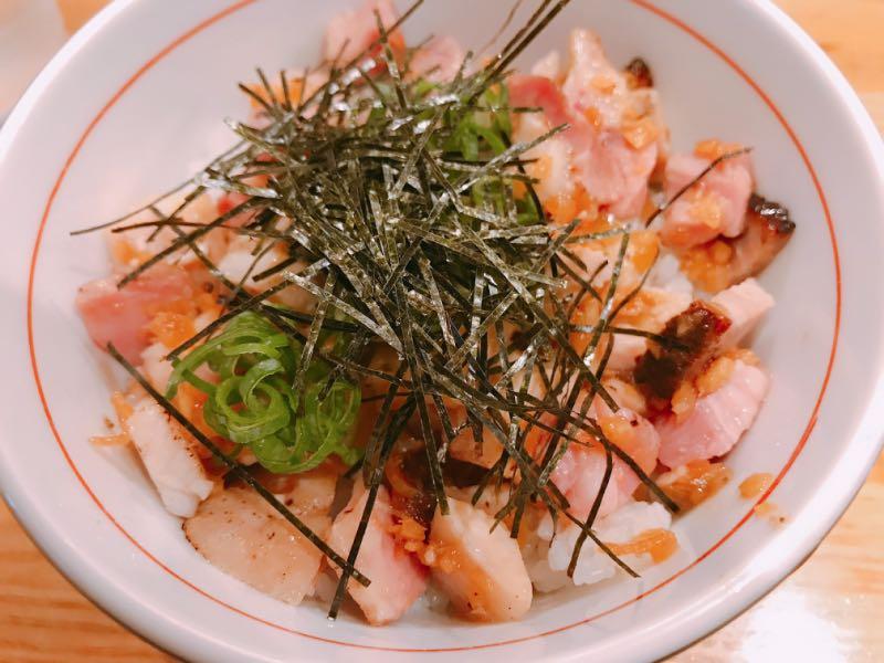 チャーシューネギご飯(小)
