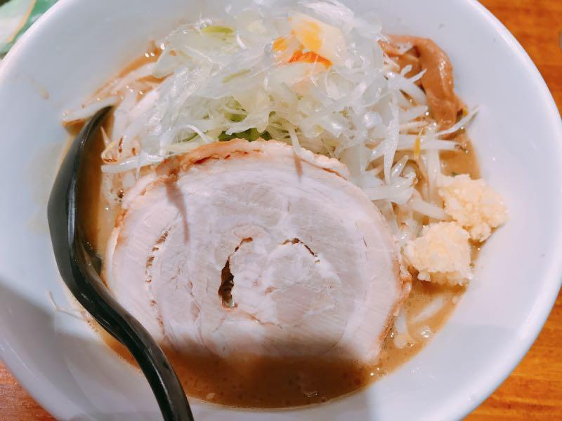 味噌らーめん(野菜ニンニク増し)