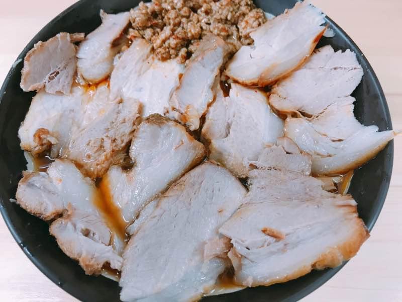 激辛チャーシュー麺