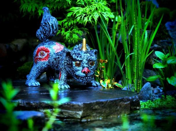 有田焼の狛犬「天地の守護獣」
