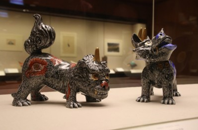 大英博物館に所蔵されている「狛犬」