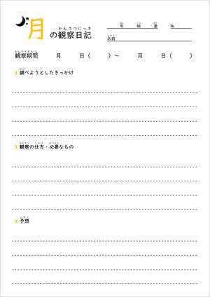 月の観察日記(TOP)