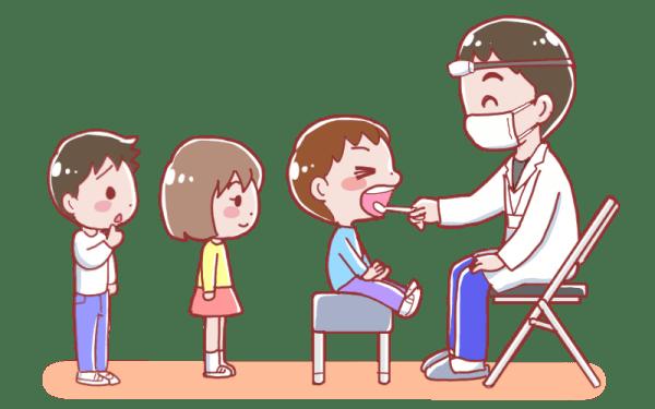 就学前健康診断-ママぷろ!