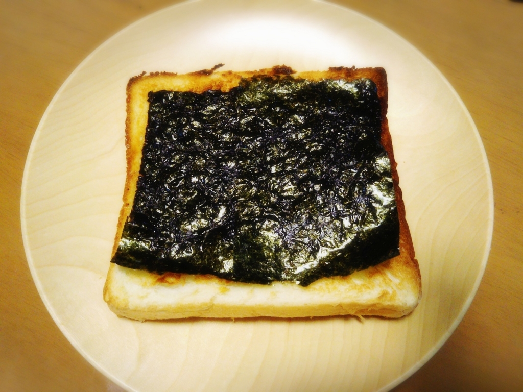 和風しょうゆ海苔トースト