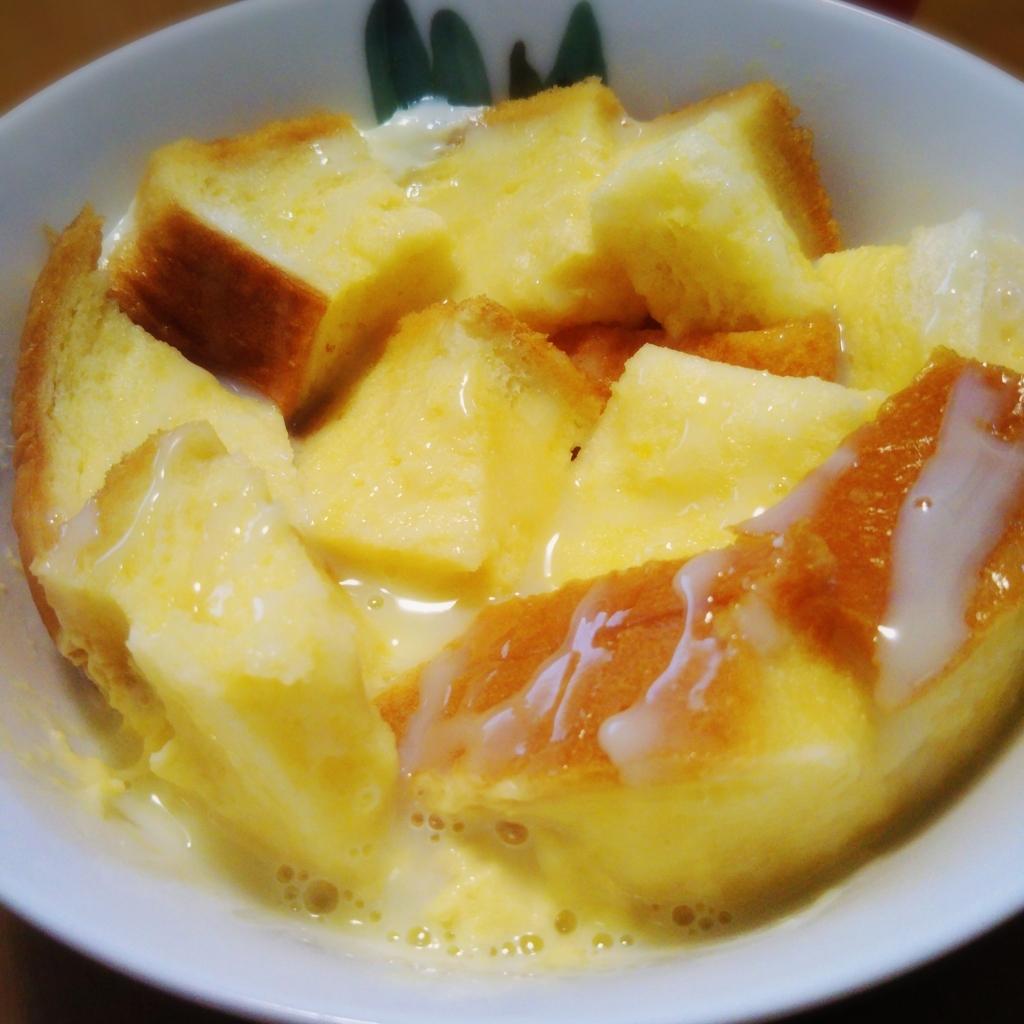 レンジで食パンフレンチトースト