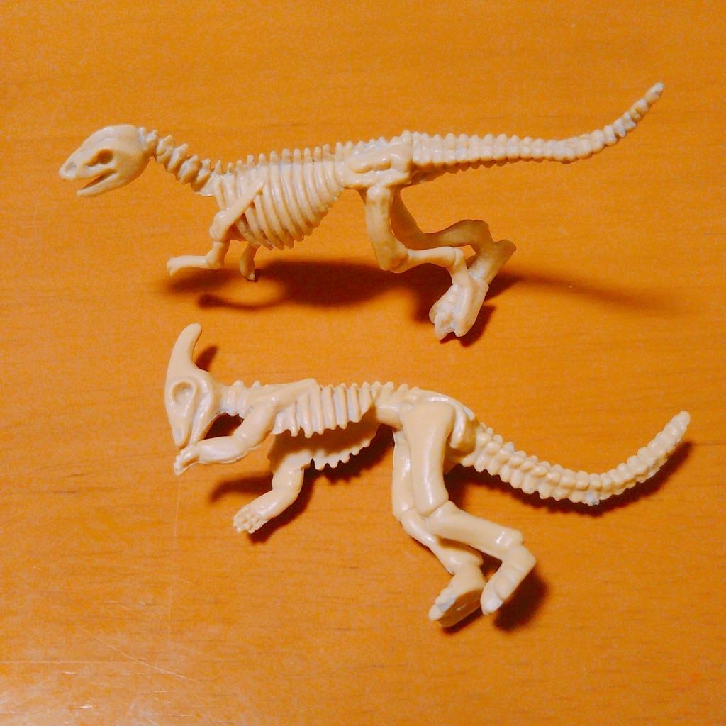 ダイソーのおもちゃ恐竜化石玩具