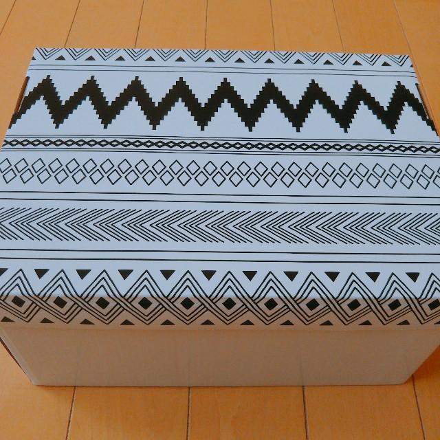 キャンドゥのモノトーン収納ボックス