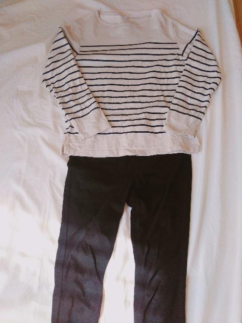 ミニマリストの春の制服:上下ユニクロ