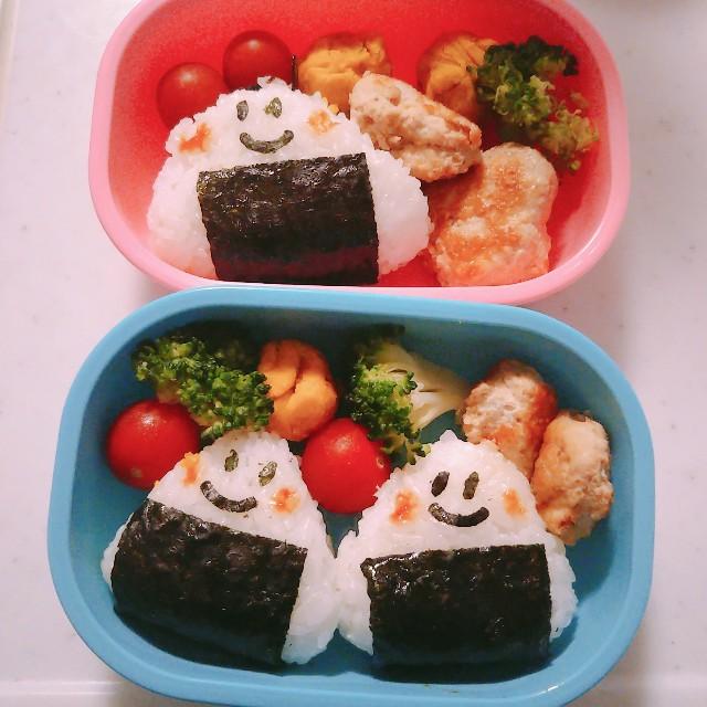 4歳保育園児の遠足のお弁当画像