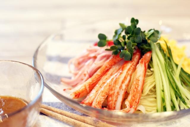 夏休みのお昼ご飯の作り置きメニュー:冷やし中華