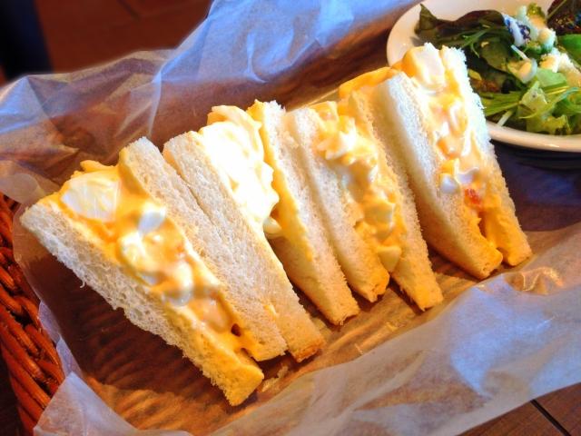 夏休みのお昼ご飯作り置き:サンドイッチ