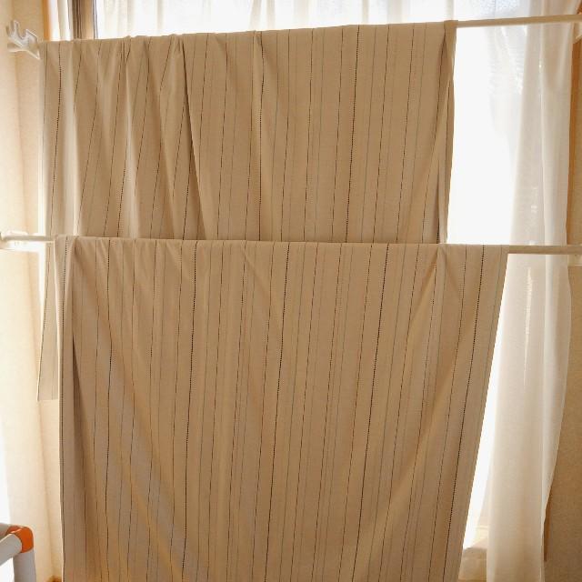9月から始める大掃除:カーテン