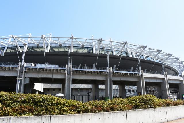 東京スタジアムの混雑状況