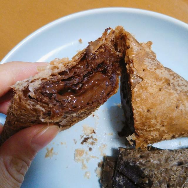三角チョコパイ黒を食べた感想