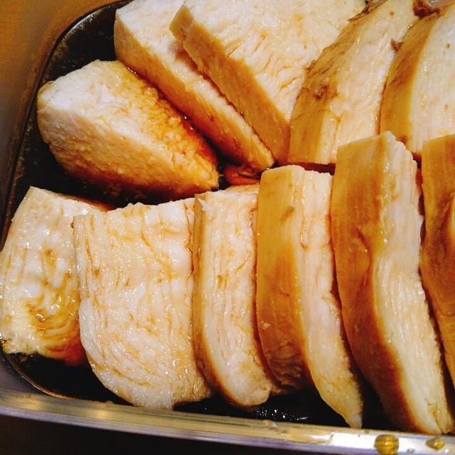 鶏むね肉の煮るだけ照り焼きチキン